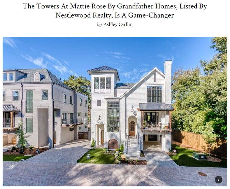 The Towers At Mattie Rose By Grandfather Homes Is A Game Changer